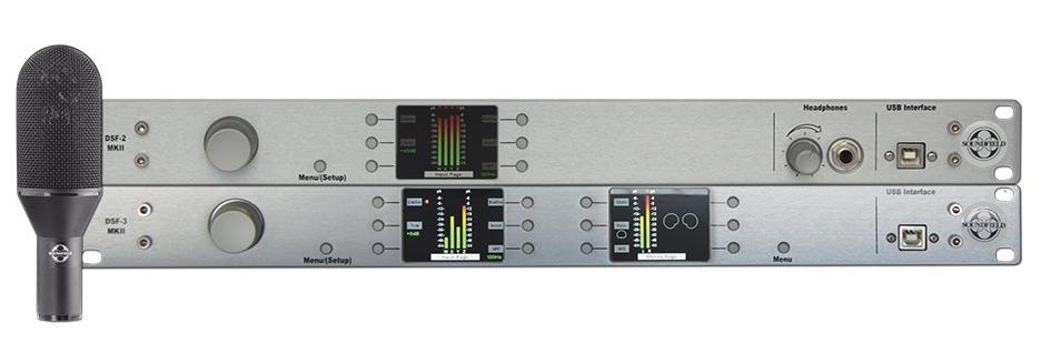 SoundField DSF-B MKII Digital Broadcast package