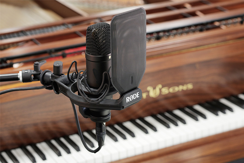 Quality microphones will give you the best dynamic range when it comes to recording the piano.